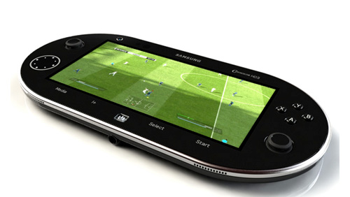 Samsung HD3 Android based Portable Gaming Console Concept Unveiled