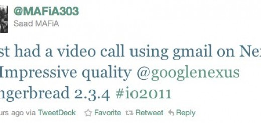 Google expected to bring Gtalk Video Calling for Android Smartphones with Android 2.3.4 at Google I/O