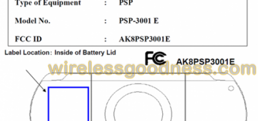 Sony PSP 3001 E Handheld Gaming Console heads to FCC