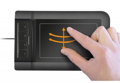 Touchpad Design Tablet - Multi-touch Tablet for PC