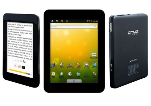 Velocity Micro Cruz Micro T301 tablet finally gets Android 2.2 Froyo Update