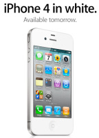 Apple White iPhone 4 to be released on April 28; AT&T and Verizon to sell White iPhone for a Starting Price of $199