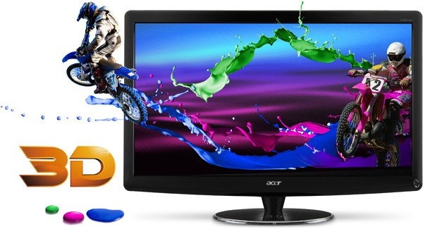 "Acer releases new Acer 27"" HN274H and 23.6"" HS244HQ 3D Monitors; Pricing $689 and $449 respectively"