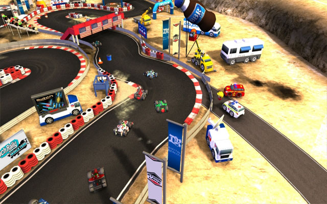 Playbox UK announced Bang Bang Racing game for Andoid device with Tegra support