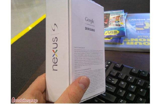 Google nexus S arrives in Best Buy Canada for Stock