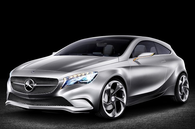 Mercedes-Benz Concept A-Class to debut at New York and Shangai  Auto Show