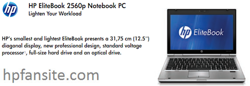 HP EliteBook 2560p Laptop and EliteBook 2760p Convertible Tablet surfaced with more details on Specs