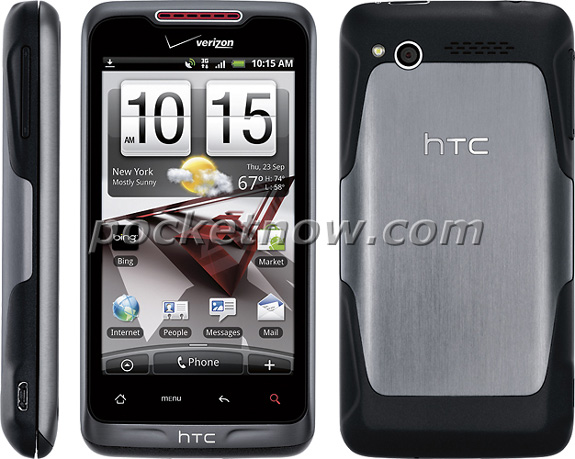 HTC Merge with Verizon Log Spotted in a press shots