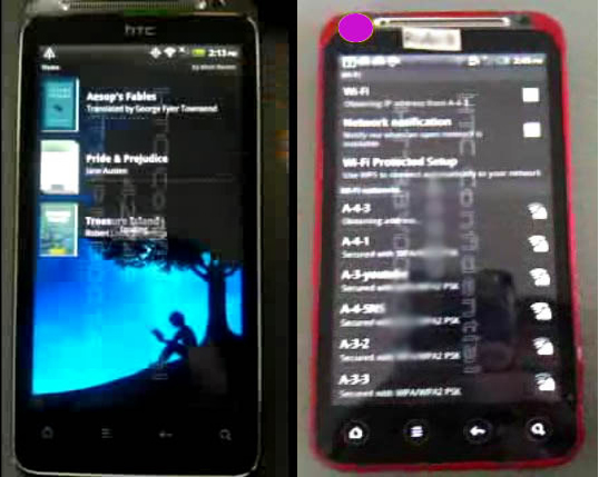 HTC Kingdom and HTC Rider Smartphone leaked; to be US Version of Sensation and Euro Version of Evo 3D?