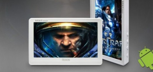 iToos M18 Android PMP with 720p HD Video and HDMI