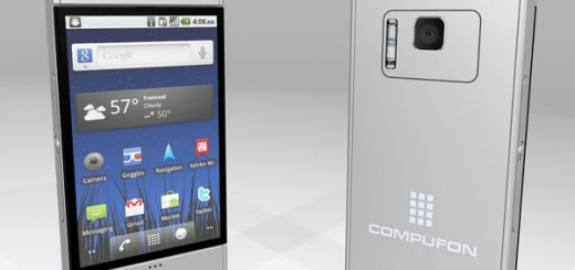 Kosmaz Compufone Honeycomb Concept is enough as Tablet and Smartphone