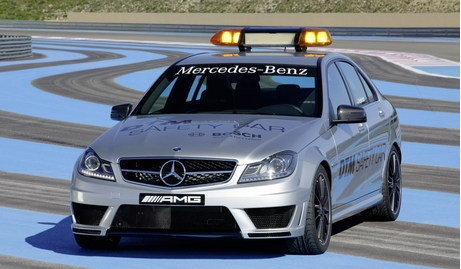 2011 Mercedes-Benz C63 AMG Safety Car to be unveiled on May 1