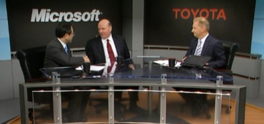 Microsoft and Toyota announced Partnership on Cloud-Based Vehicle Platform