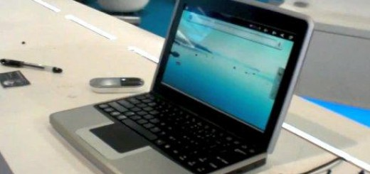 Rockchip RK2918 powered Netbook running on Android OS Spotted