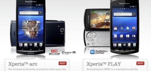 Sony Ericsson XPERIA Play and XPERIA Arc now on Pre-order from Rogers