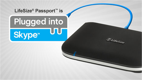 LifeSize Passport HD Video Conferencing System is now compatible with Skype