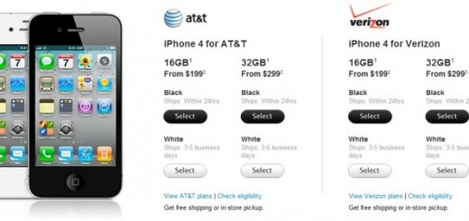 Apple White iPhone 4 finally goes on sale; now available from Apple Store on AT&T and Verizon Network
