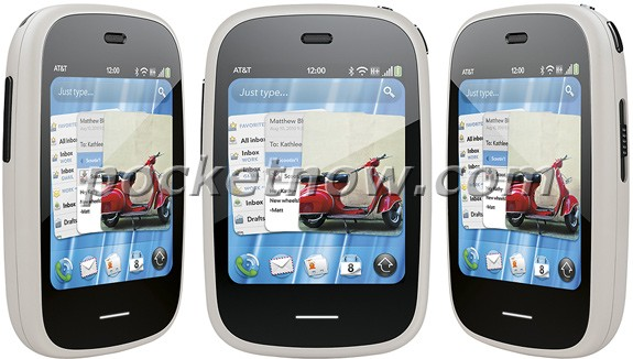 White HP Veer 4G Smartphone to be available from AT&T?