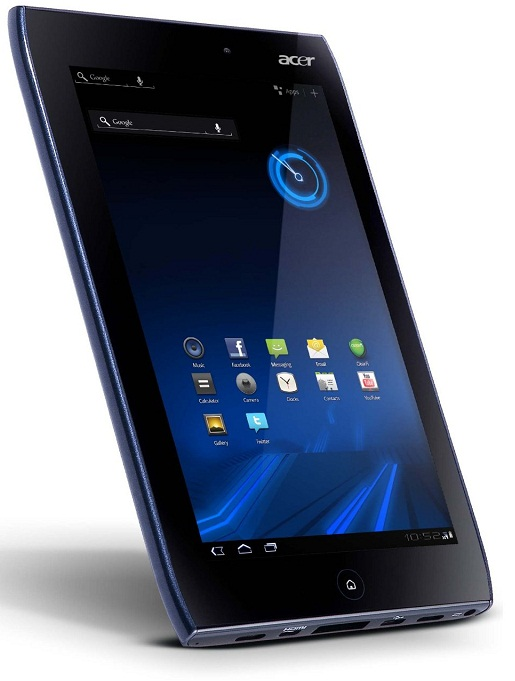 Acer Iconia A101 and A100 Honeycomb Tablet now on Pre-order at Amazon.UK; Release Date May 14