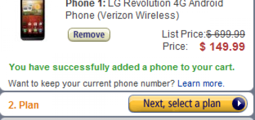 AmazonWireless  offer on LG Revolution 4G Android Phone  Verizon Wireless