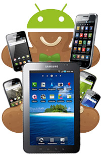 Android 2.3 Gingerbread Update for Samsung Galaxy Tab Tablet and Galaxy S Smartphone to be released in May