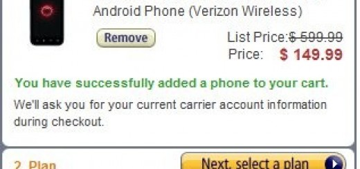 Verizon HTC Droid Incredible 2 Smartphone now for just $79.99 at Amazon for New Customers