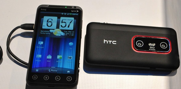 Pre-order HTC Evo 3D Smartphone and HTC Evo View 4G Tablet from Sprint now