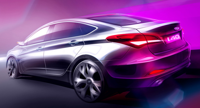 Hyundai to release New Hyundai i40 Sedan Version for Europe; expected to debut at Barcelona Motor Show 2011