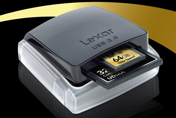 Lexar Professional USB 3.0 Dual-slot Card Reader released; Pricing $49.99