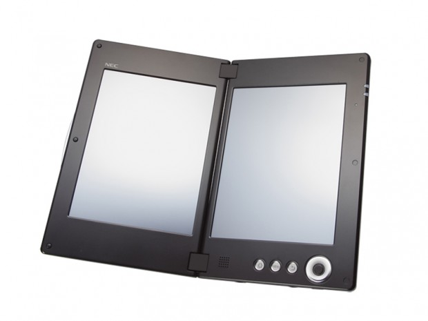 NEC LifeTouch W Dual-Screen Android Tablet to release in next month