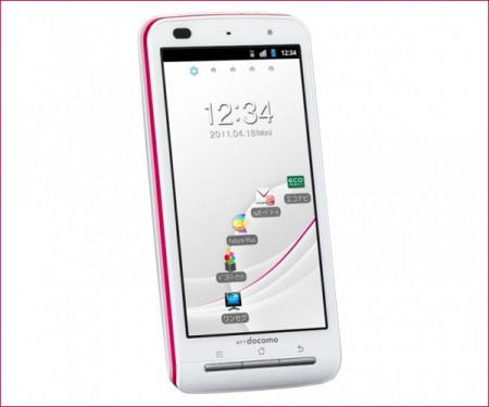 NTT DoCoMo P-07C Android Smartphone for ladies