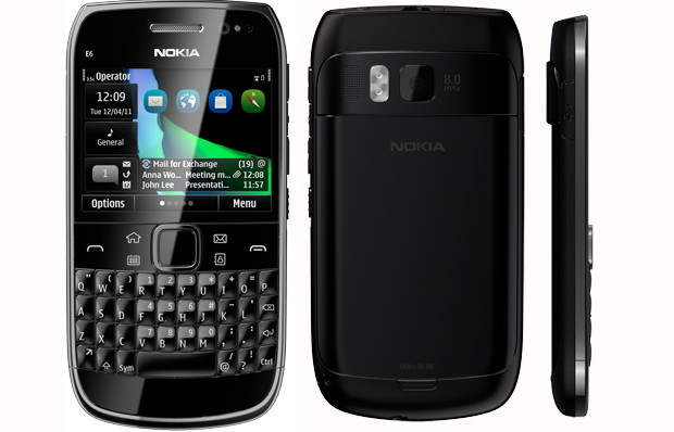 Nokia E6 'Symbian Anna' phone UK pre-order starts for 349; releasing end of June