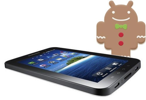 Samsung Galaxy Tab Gingerbread 2.3 Update releasing soon
