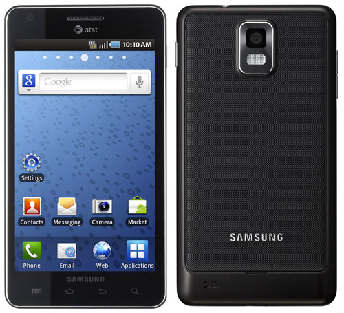 Samsung Infuse 4G Android smartphone  from AT&T; priced $149.99 in Amazon Wireless