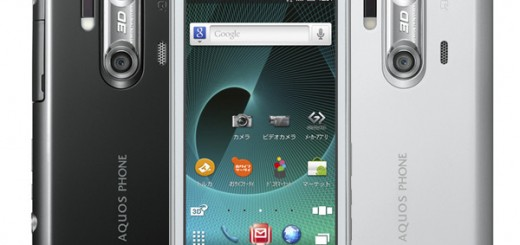Sharp Aquos Phone SH-12C 1.4GHz Gingerbread, qHD Resolution Display and 3D Camera