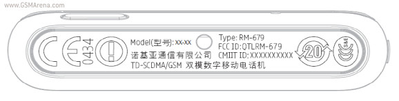 Nokia T7-00 Smartphone gets through FCC
