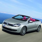 Volkswagen releases Official Images of the Ne Golf Cabriolet; expected to be released in this Summer