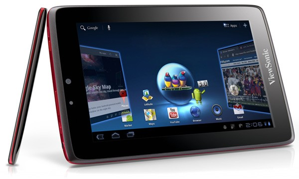 ViewSonic ViewPad 7x 7-inch Honeycomb and ViewPad 10Pro Windows 7 Tablets uncovered at Computex