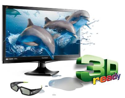 ViewSonic uncovers 24 inch V3D245wm-LED 3D LCD Monitor at Computex 2011