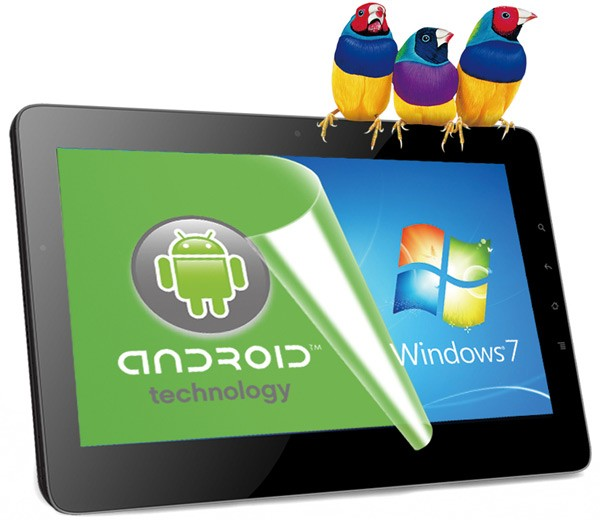 ViewSonic ViewPad 10Pro Windows and Android Dual-Boot Oak Trail Tablet Specs