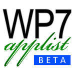 WP7 Applist App helps you find Windows Phone 7 Apps from Market Place easily