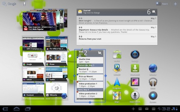 ASUS Eee Pad Transformer Tablet to get Android 3.1 Honeycomb OTA Update early next Week