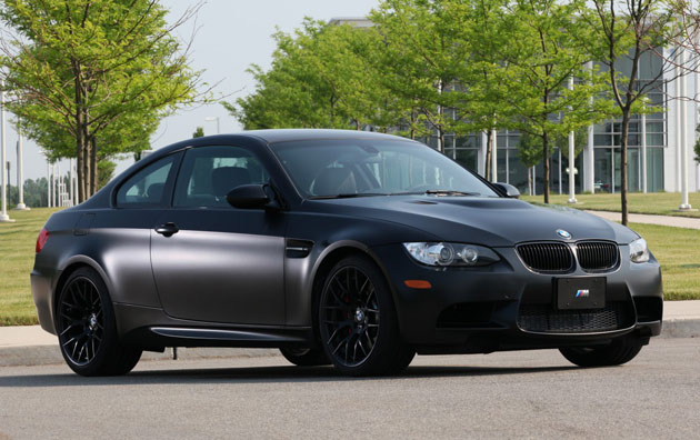 2011 BMW M3 Coupe Frozen Black Edition goes official in U.S; Specs and Price