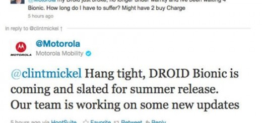 Motorola DROID Bionic release confirmed to be in Summer