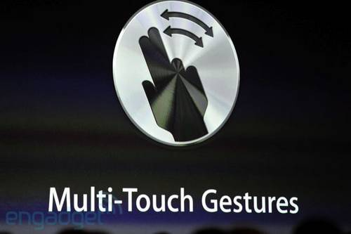 Mac OS X 10.7 Lion Multitouch Gestures