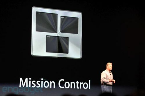 Mac OS X 10.7 Lion  Mission Control