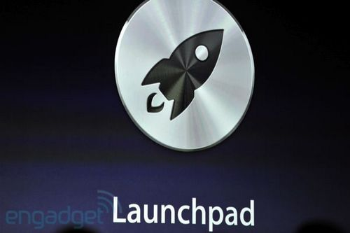Mac OS X 10.7 Lion  Launchpad