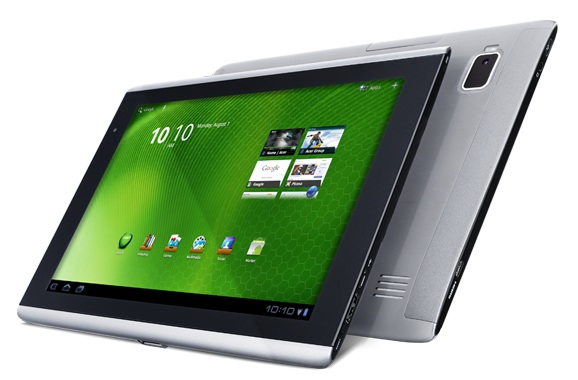 Acer Iconia Tab A500 Android 3.1 Honeycomb Update coming on July 5