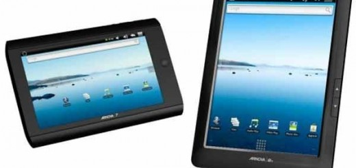 "Archos Arnova 7"" cheapest Android Tablet official; Specs and Price"