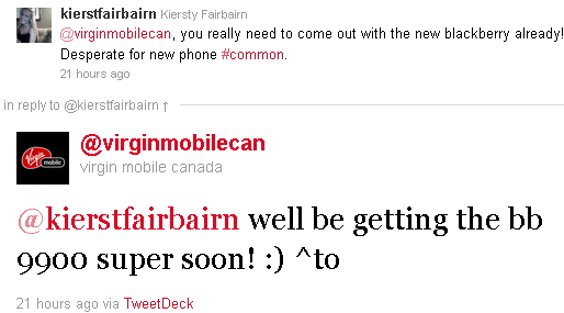 "Virgin Mobile Canada confirms BlackBerry Bold 9900 Release as ""Super Soon"""